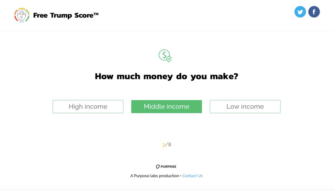FreeTrumpScore.com