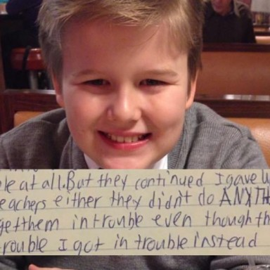 Parents Who Lost Their 13-Year-Old To Suicide Release His Heartbreaking Goodbye Letter In Hopes Of Sparking Change
