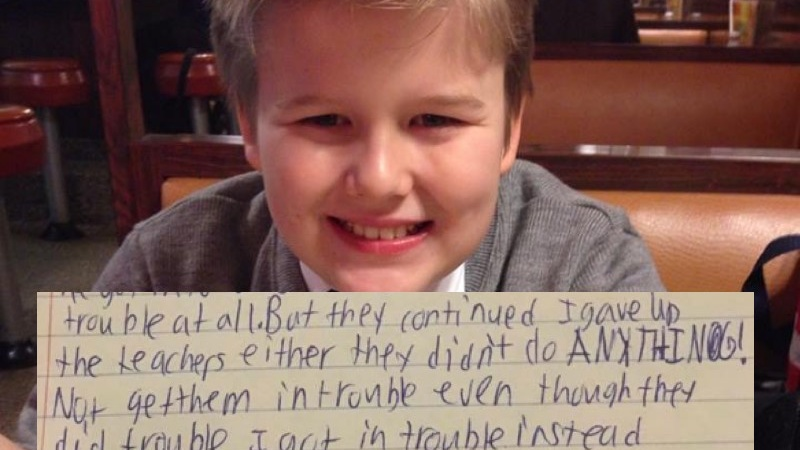 Parents Who Lost Their 13-Year-Old To Suicide Release His Heartbreaking Goodbye Letter In Hopes Of SparkingChange