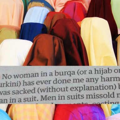 This Profound Newspaper Clipping Turns All Arguments For Banning Islamic Dress COMPLETELY On Their Head