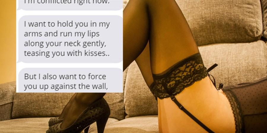 19 Dirty Text Convos That'll Make You UnbearablyWet