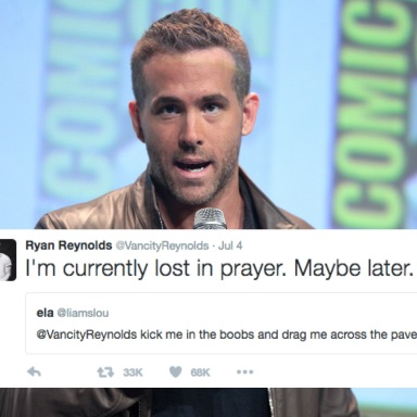 Ryan Reynolds Actually Responds To Horny Fans Who Beg Him For Sex On Twitter And It's F*cking Hilarious