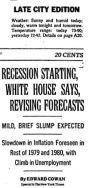 1979 recession starting