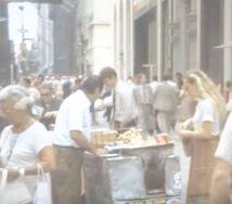 1980 hot dog vendor