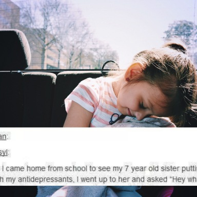 What This 7-Year-Old Girl Did For Her Sister With Depression Will Melt Your Heart