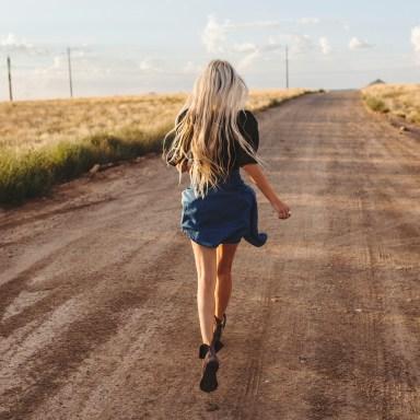Be The Girl Who Walks Away