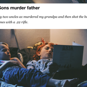 34 People Reveal The Horrifying Family Secret That Shook Them To Their Core