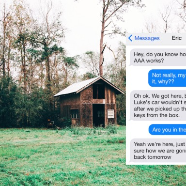Live Blog: My Boyfriend Is Staying At A Cabin With A Gruesome History, And His Texts Are Really Starting To Freak Me Out…