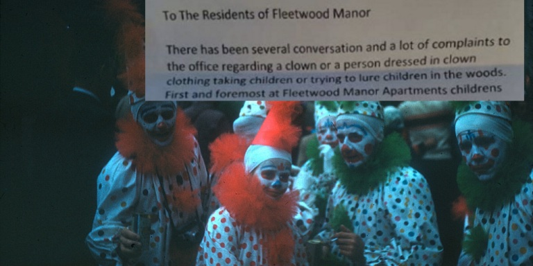 Numerous South Carolina Children Claim That Clowns Have Been Trying To Lure Them Into The Woods