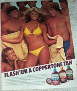 coppertone ad 1979