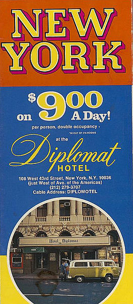 diplomat hotel brochure