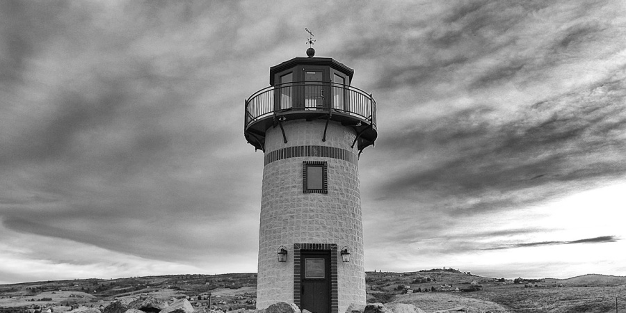 Somewhere On The Coast Of Maine There Is A Deserted Lighthouse, And It's Where You Go If You Want To Stare Fear In The Eyes