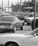gas station line 1979
