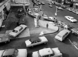Gulf station line 1979