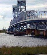 Marine Parkway Bridge from shore