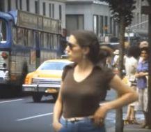 mid-june 1979 woman at corner
