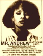 Mr. Andrew hair care