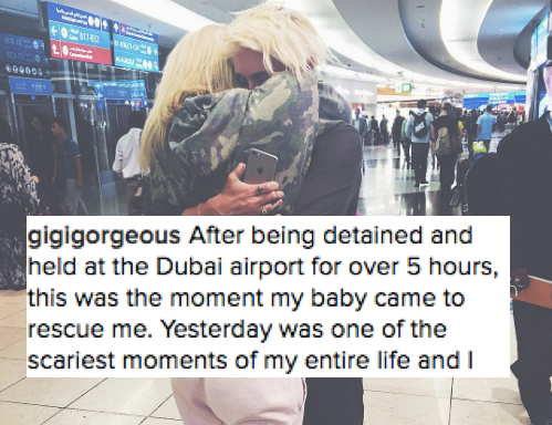 This Is Gigi Gorgeous' Courageous Response After Being Detained For 5 Hours Just Because She'sTransgender