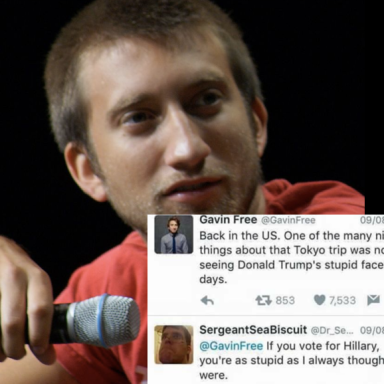 This Pro-Trump Troll Thought He Burned Gavin Free, But Actually He Got Himself OWNED