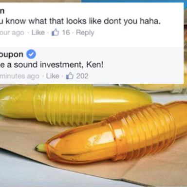 Everyone Is Laughing Their Asses Off At This 'Banana Holder' That Looks A Lot Like…Something Else