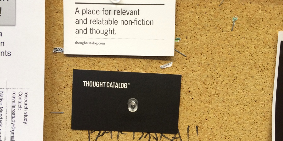 My Favorite Thought CatalogArticles