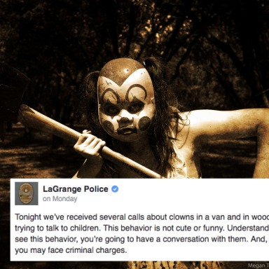 Creepy Clowns Who Attempted To Lure Kids Into The Woods Have Spread To Yet ANOTHER State