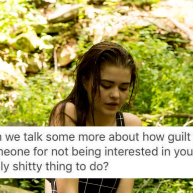 This Real Talk Tumblr Post Is For Anyone Who Has Been Guilted For Not Dating Someone