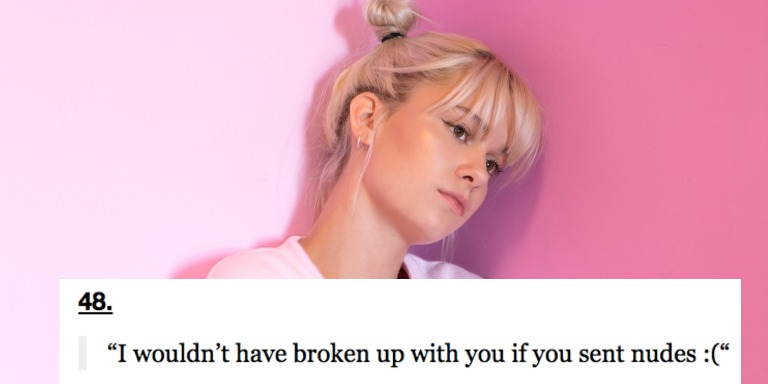 51 People Reveal The Most Pathetic Thing An Ex Ever Said To Try To Get Them Back