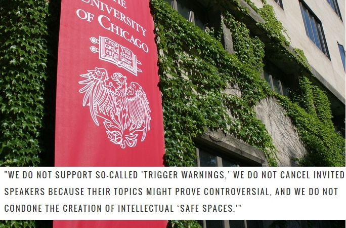 Here's Why UChicago's Rejection Of 'Trigger Warnings' Is Protecting The WrongPeople