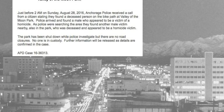 Alaska Gripped In Terror As Possible Serial Killer Jacks Up Homicide Rate InAnchorage
