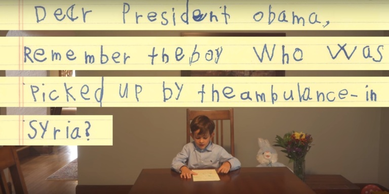This 6-Year-Old's Letter To Obama About A Syrian Refugee Will Absolutely Melt YourHeart