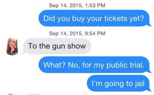 Someone Found These 17 Hilarious Tinder Screenshots And You'll Die OfLaughter