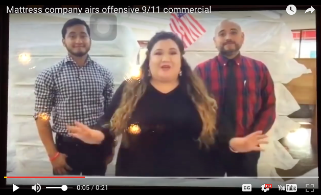 This Awful 9/11 Mattress Sale Commercial Is The Most Offensive Ad Of AllTime