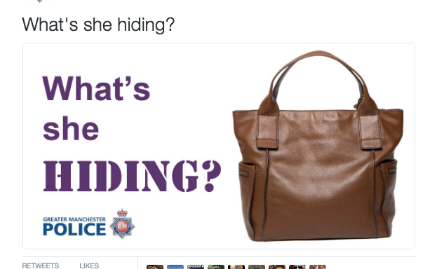 This Bizarre Tweet From A Police Department Has The Entire Internet Confused AsF*ck