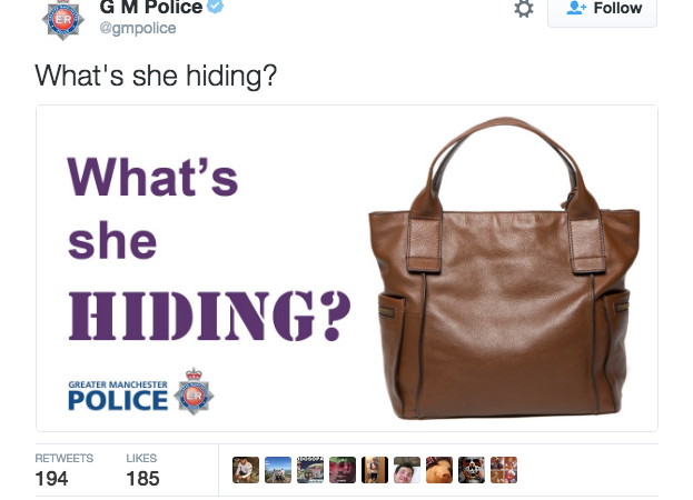 This Bizarre Tweet From A Police Department Has The Entire Internet Confused As F*ck