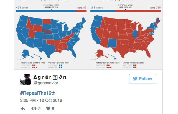 Here's All The People ACTUALLY Saying Women Shouldn't Be Allowed To VoteAnymore