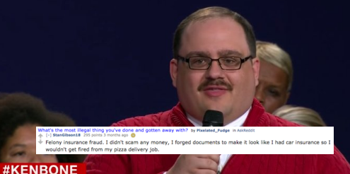 So It Turns Out The Illusion Of Ken Bone Was A Giant Lie (Like EverythingElse)