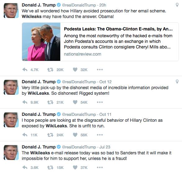Twitter / Donald J. Trump