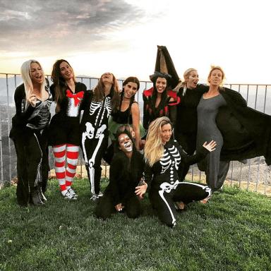 Here's The Halloween Party Kourtney Kardashian Threw For Her Girlfriends