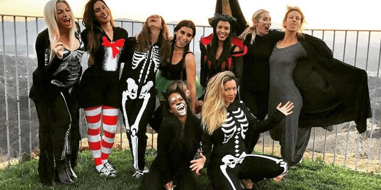 Here's The Halloween Party Kourtney Kardashian Threw For HerGirlfriends