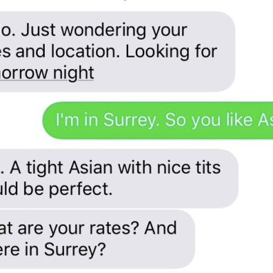 This Wife Kept Getting Texts Looking For Hookers, So Her Husband Decides To Start Responding