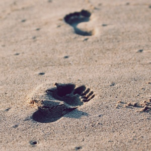 The Truth About Our Footprints In The Sand