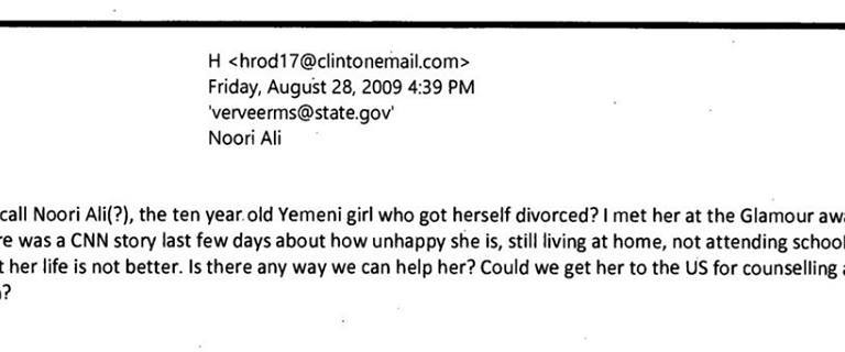 Here's The Hillary Clinton Email That The Media Just Will NOT ReportOn