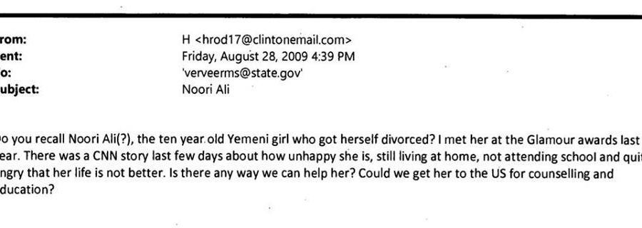 Here's The Hillary Clinton Email That The Media Just Will NOT Report On