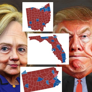 Here's Who Will Win The Election Battleground States Based On The Votes So Far