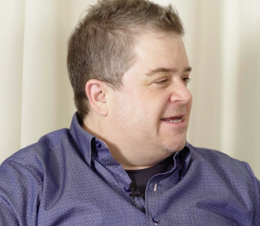 Patton Oswalt Throws Down HARD For Hillary