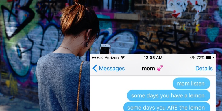 This Girl Sends Her Mother One Weird Text A Day, And ALWAYS Gets A HilariousResponse