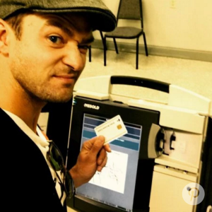 Here's How Your Fav Celebrities Have Rocked Their 'I Voted' Stickers (So Far)