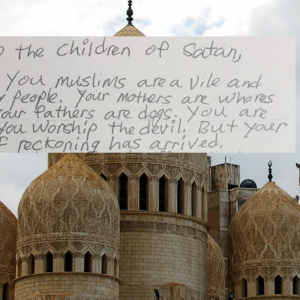 'Trump's Going To Do To Muslims What Hitler Did To The Jews,' Letter Sent To Mosque Promises
