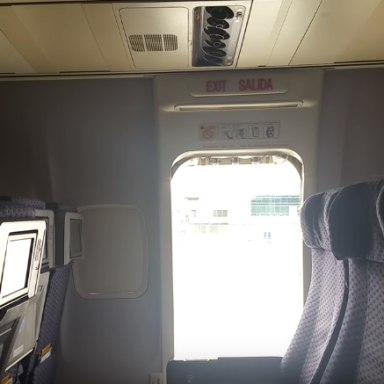 Woman Jumps Out Of Plane Through Emergency Exit Probably Because 2016 Has Fucking Sucked